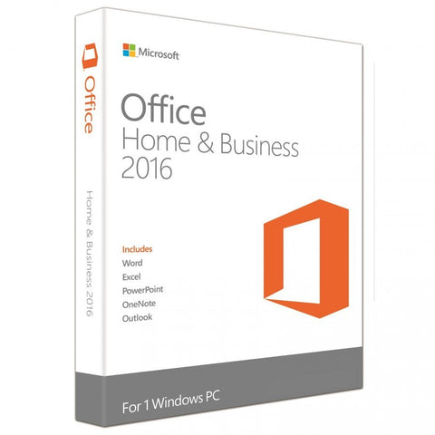 Microsoft Office Home & Business 2016 (1 User)