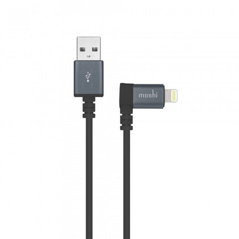 Moshi Lightning to USB Cable 90-Degree Connector - Gadgitechstore.com
