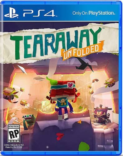 Tearaway Unfolded (PS4 Game) - Gadgitechstore.com