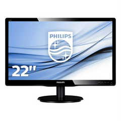 Philips LCD Monitor with LED Backlight 226V4LAB - Gadgitechstore.com