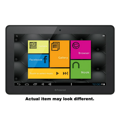 "Polaroid QUADCORE Tab 9"" ANDROID 4.4 (4GB)"