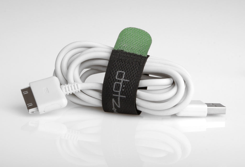 Dotz Reusable Hook & Loop Cord Straps - 6 Pieces - Gadgitechstore.com