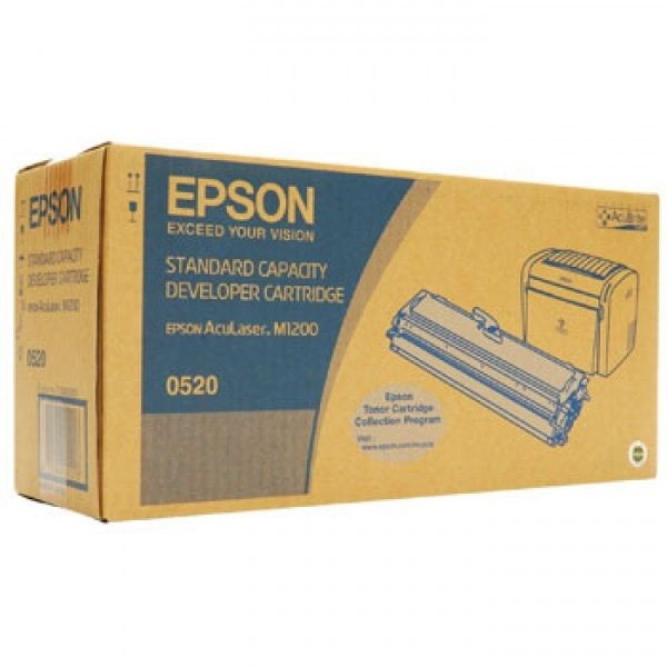 Epson Ink cartridge (S050520) Color Black - Gadgitechstore.com