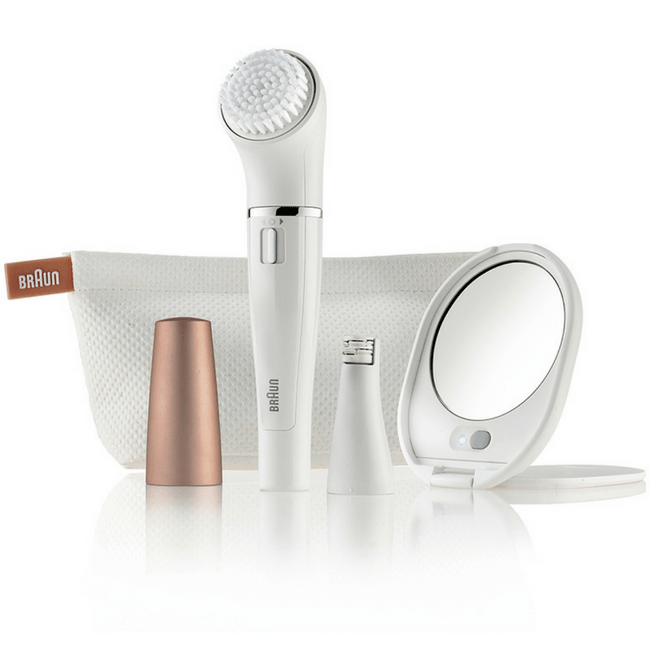 Braun Face Epilator & Cleansing Brush SE831 - Gadgitechstore.com