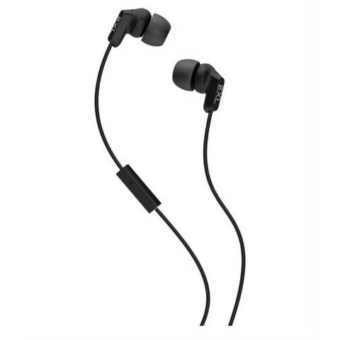 Skullcandy 2XL Whip In-Ear Headphone - Ambient Chatter Reduction & Hands-Free Mic