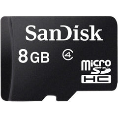 SanDisk microSDHC Memory Card Class 4 With SD Adapter - GadgitechStore.com Lebanon - 1