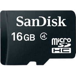 SanDisk microSDHC Memory Card Class 4 With SD Adapter - Gadgitechstore.com