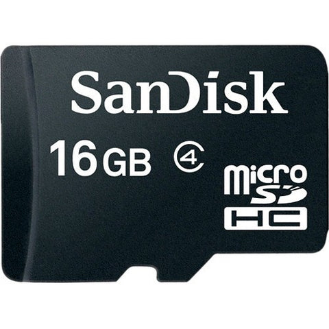 SanDisk microSDHC Memory Card Class 4 With SD Adapter - GadgitechStore.com Lebanon - 2