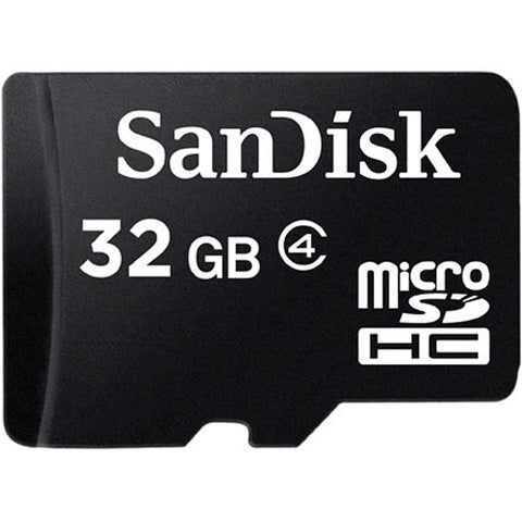 SanDisk microSDHC Memory Card Class 4 With SD Adapter - GadgitechStore.com Lebanon - 3