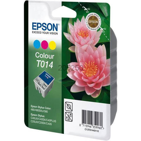Epson Ink Cartridge T014401 Color Cyan, Magenta, Yellow