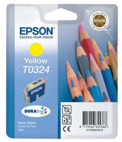 Epson Ink Cartridge (T0322-24) Colour Cyan,Yellow,Magenta