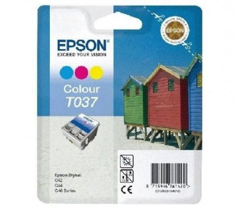 Epson Ink Cartridge T037040 Color Cyan, Magenta, Yellow