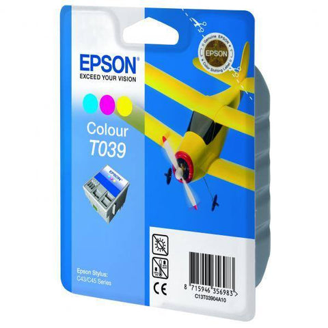 Epson Ink Cartridge T03904A Color Cyan, Magenta, Yellow