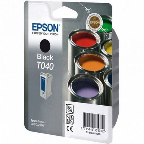 Epson T040 (T040140) Black Cartridge - Gadgitechstore.com