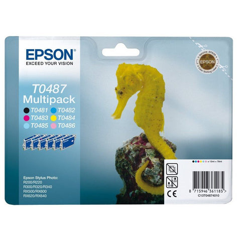 Epson Ink Cartridge (T048740) Multicolor Pack
