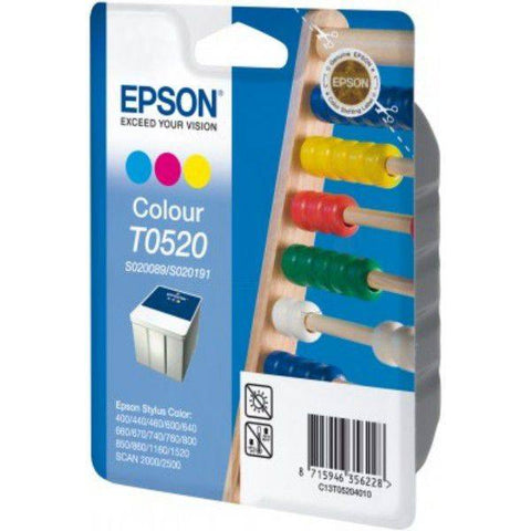 Epson Ink Cartridge T052040 Color Cyan, Magenta, Yellow