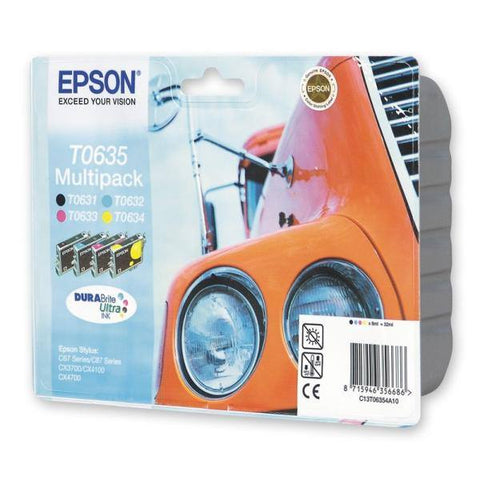 Epson Ink Cartridge (T06354) Multicolor Pack