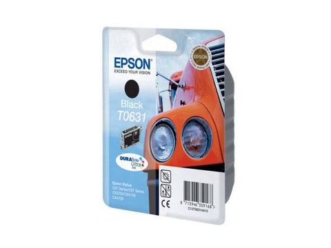 Epson Ink Cartridge T06314A Color black