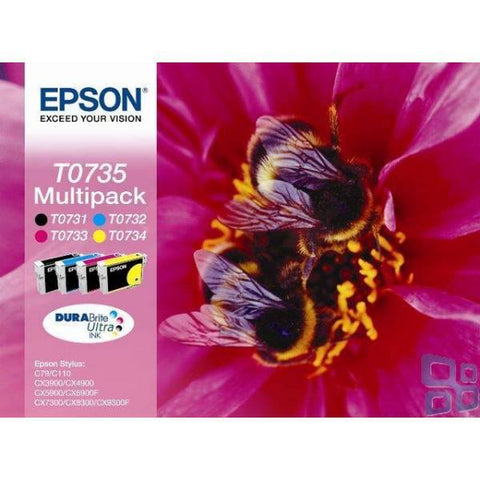 Epson Ink Cartridge (T10554) Multicolor Pack