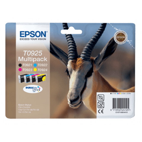 Epson Ink Cartridge (T10854) Multicolor Pack