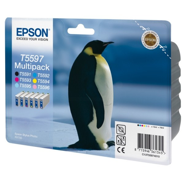 Epson Ink Cartridge (T559740) Multicolor Pack - Gadgitechstore.com