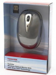 Toshiba W25 Blue LED Wireless Optical Mouse - GadgitechStore.com Lebanon