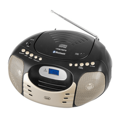 Trevi CMP 570 BT Portable Radio CD Blue/Black
