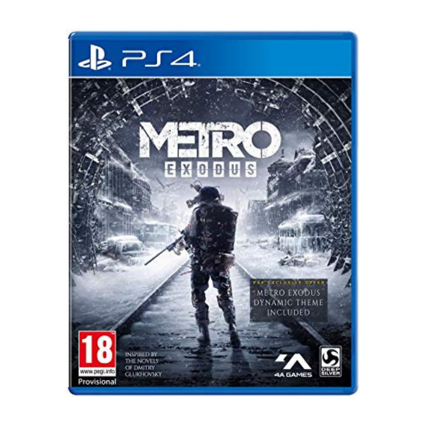 Metro Exodus: Day One Edition (PS4 Game)