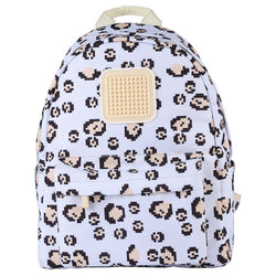 Upixel Funny Square Spots Leopard Backpack