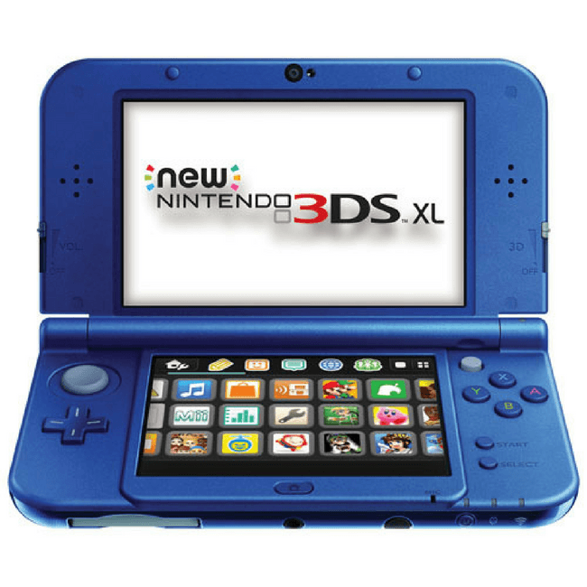 Nintendo New 3DS XL + 2 Games
