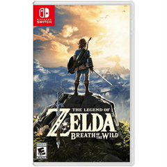 "The Legend of Zelda ""Breath of the Wild""(Nintendo Switch Game)"