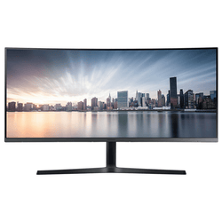 "Samsung 34"" Curved High Resolution Monitor with USB-C (LC34H890WJMXZN)"