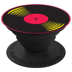 PopSockets Single - 33 RPM BLACK