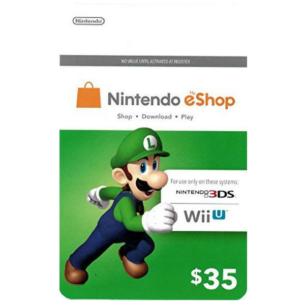 Nintendo eShop Game Cards (US Only)