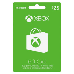 Xbox Live Game Cards (US Only)