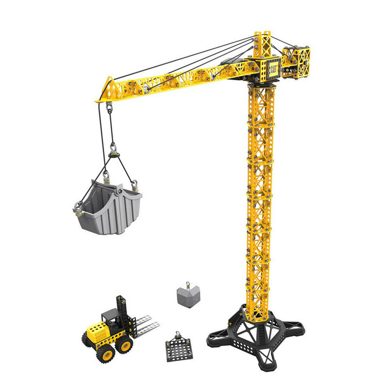 CAT Toys Machine Maker™Apprentice Tower Crane With Fork Lift