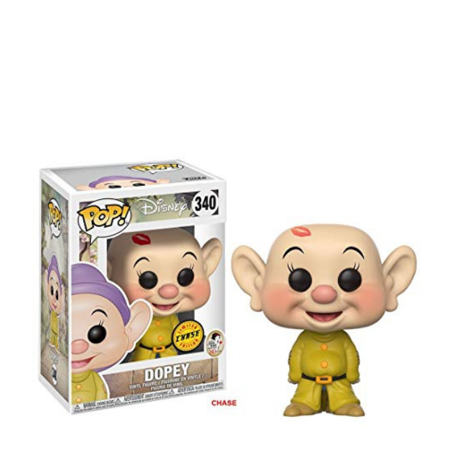 FUNKO POP Disney: Snow White - Dopey with Chase