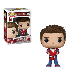 Funko POP Games: Marvel-Spider ManS1-Unmasked Spider-Man