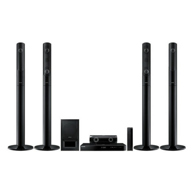 Samsung 1,000W 5.1Ch Blue-ray Home Entertainment System HT-J5550WK