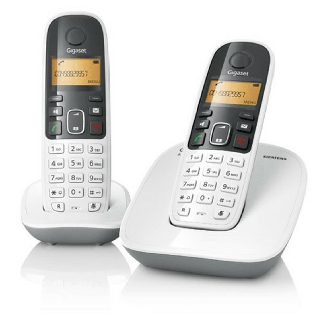 Siemens Gigaset A490 Duo Cordless Phone