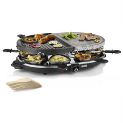 Princess Oval Stone Raclette Grill