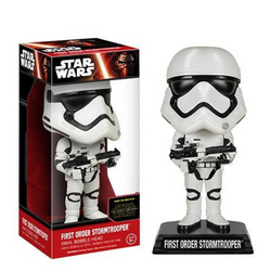 FUNKO Wacky Wobbler: Star Wars - Stormtrooper Gear Finn Bobble Head
