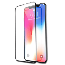 "TINGZ MY iPHONE 6.5"" 3D Curved Glass Protector for iPhone XS MAX"