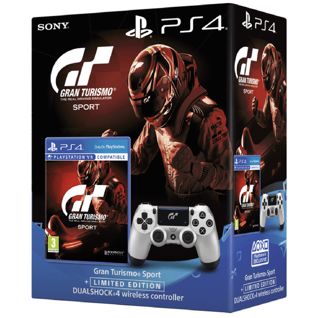 GT Sport Gets Limited Edition DualShock 4 Bundle