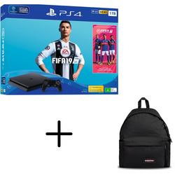 Sony Playstation 4 Slim 1TB Fifa 19 + Eastpak Bag