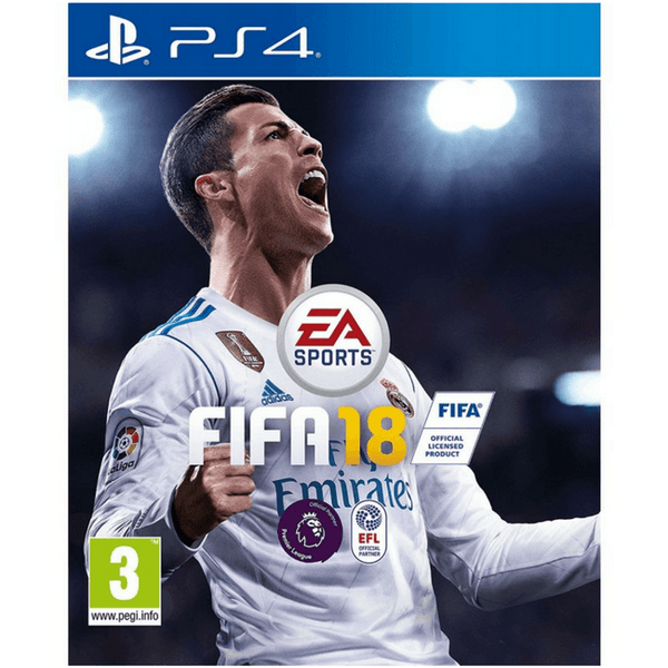 FIFA 18 English/Arabic (PS4 Game)