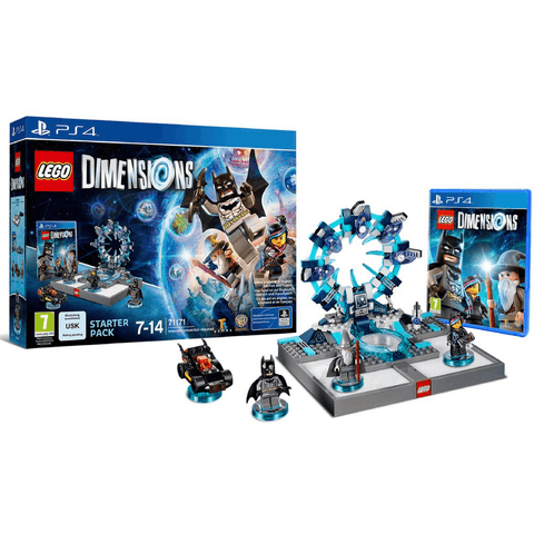 Lego Dimensions Batman w/Figures (PS4 Game)