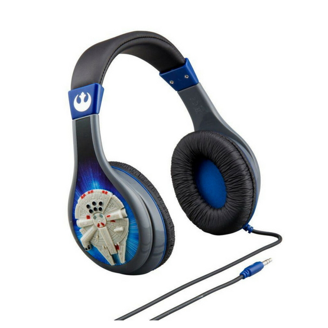 iHome Kiddesigns Over-Ear Headphone Volume Limited With 3 Settings -  Starwars
