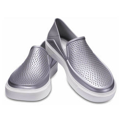 Crocs Women's Lifestyle Citilane Roka Metallic Slippers