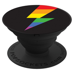 PopSockets Single - RAINBOW THUNDER GLOSS